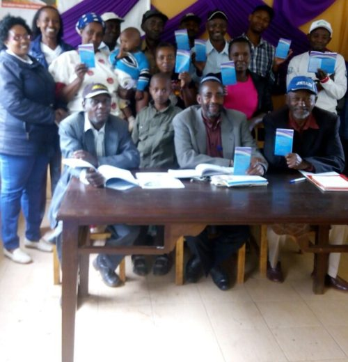 Noahides in Kenya with Ask Noah prayer booklets