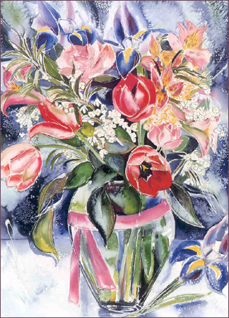 Iris Bouquet © Linda Frimer