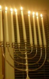 Hanukkah menorah