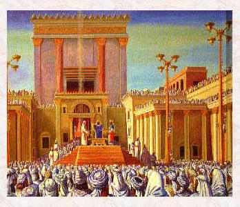 The Second Holy Temple in Jerusalem