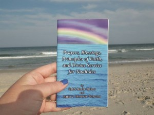 Noahide prayers at the beach
