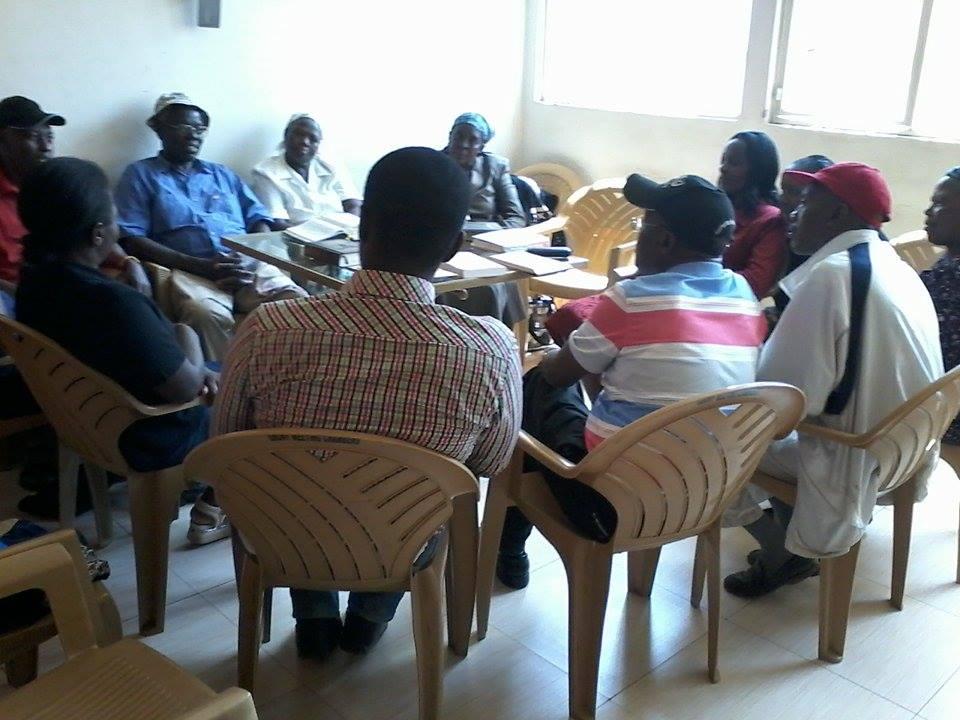Group study of the Noahide Code in Kenya