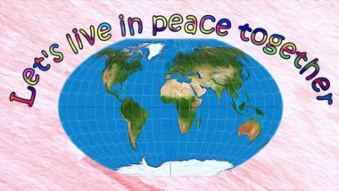 Let's live in peace together