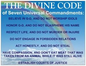 The Seven Noahide Commandments