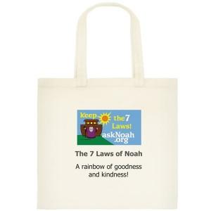 Small tote bag - 7 Laws of Noah